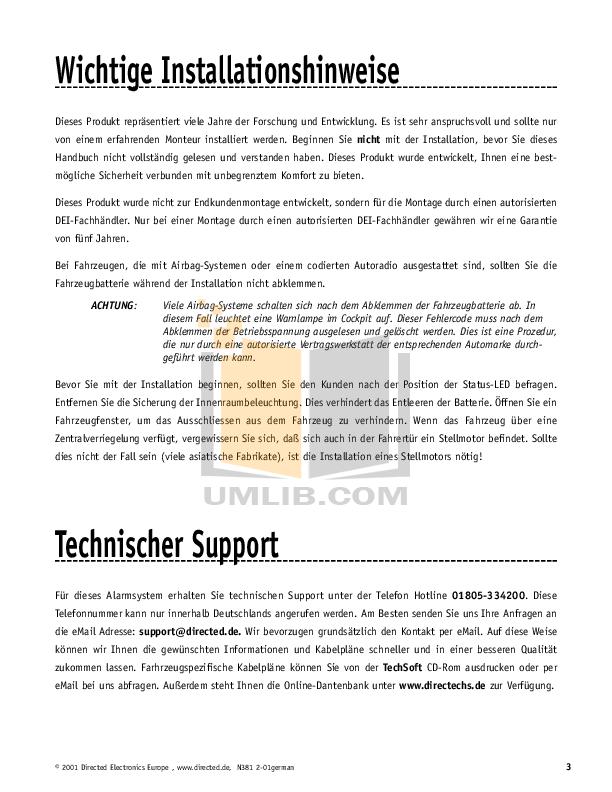 pdf manual for dei other viper 800esp car alarms rh umlib com viper 800 esp install manual ESP LTD Viper 330