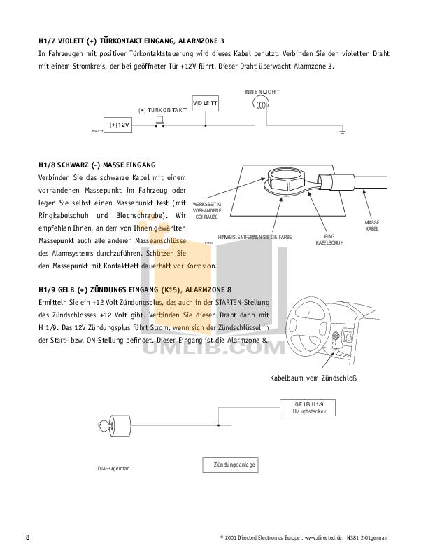 pdf manual for dei other viper 800esp car alarms rh umlib com ESP Viper 100Fm Guitar Tony Perry's ESP Viper