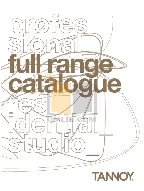 pdf for Energy Speaker Connoisseur CB-10 manual