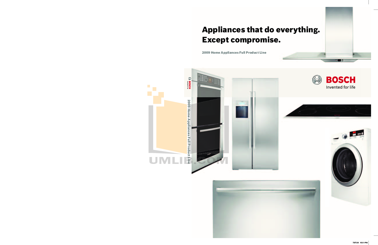 pdf for Bosch Microwave HMV3021U manual