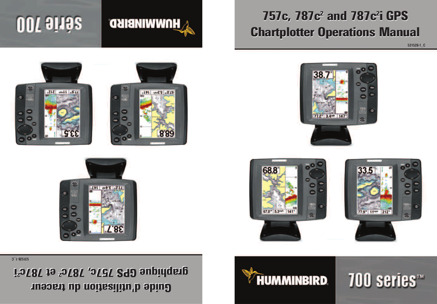 pdf for Humminbird GPS Matrix 97 manual