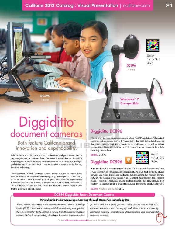pdf for Califone DVD Players DVD400 manual