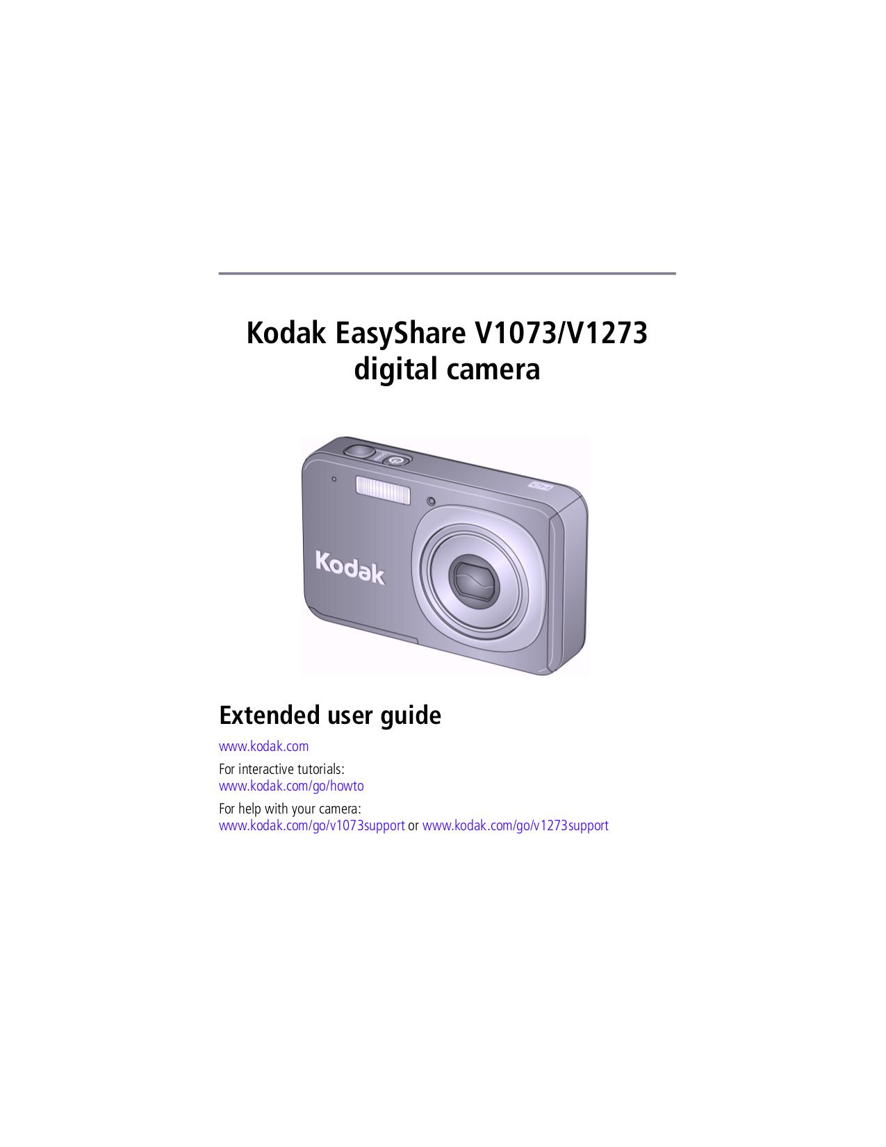 download free pdf for kodak easyshare v1273 digital camera manual rh umlib com Kodak EasyShare Cameras Kodak EasyShare C613