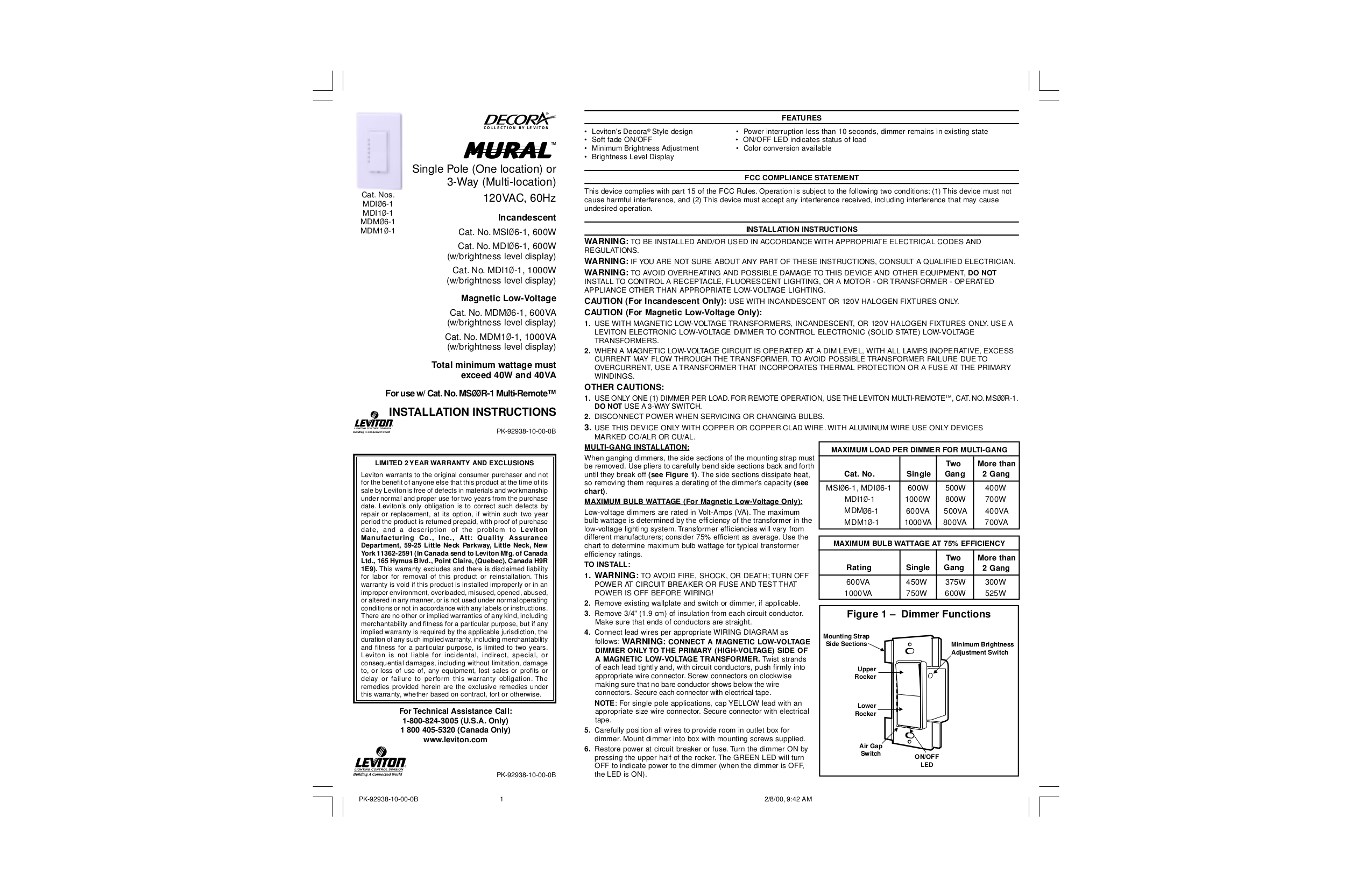 Delighted Leviton Canada Images - Electrical System Block Diagram ...
