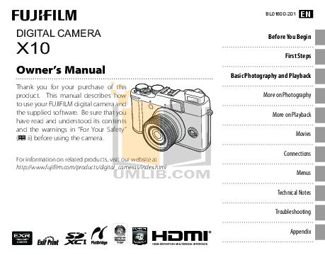 download free pdf for fujifilm x10 digital camera manual rh umlib com fujifilm x10 manual español fujifilm x100 manual