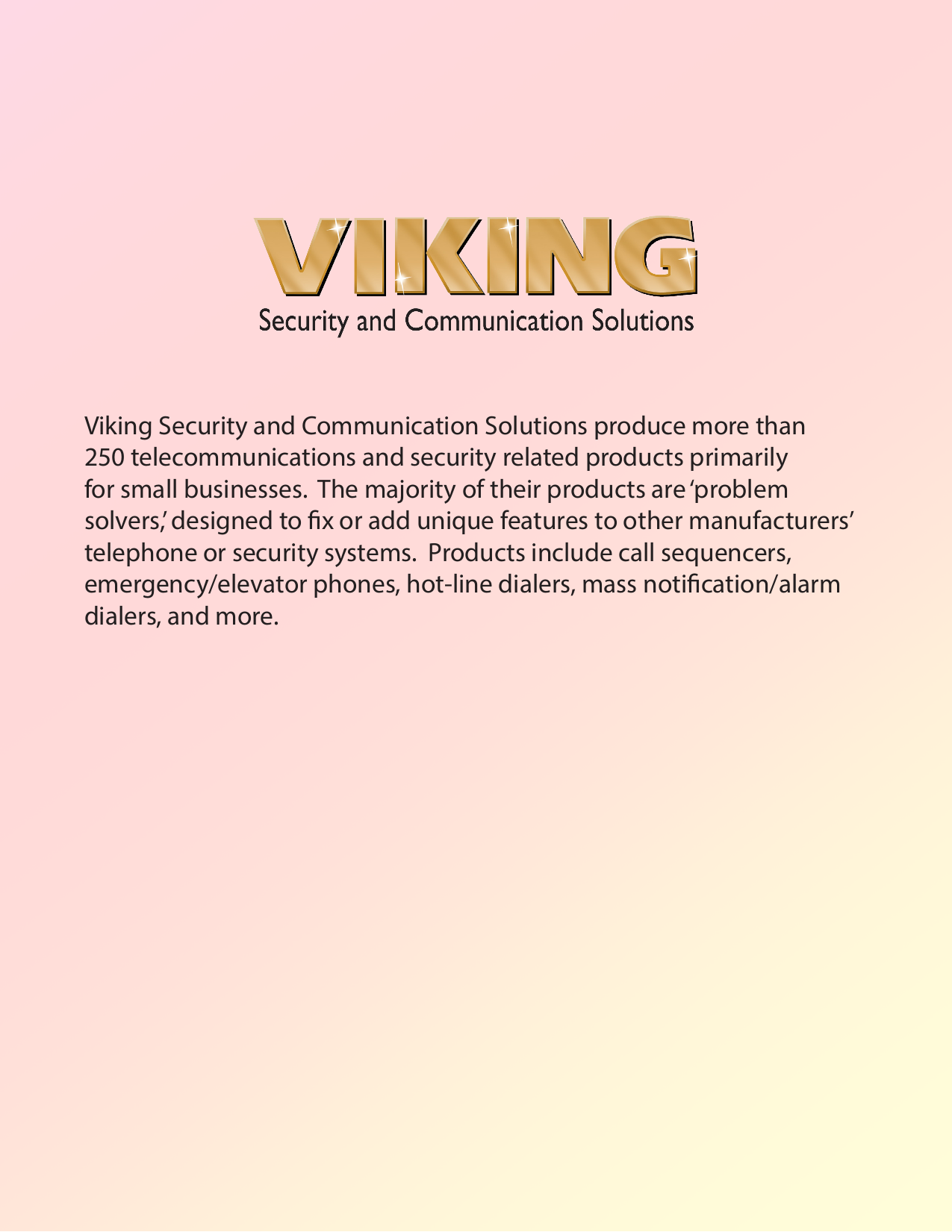 pdf for Viking Other DVA-2WA Announcers manual
