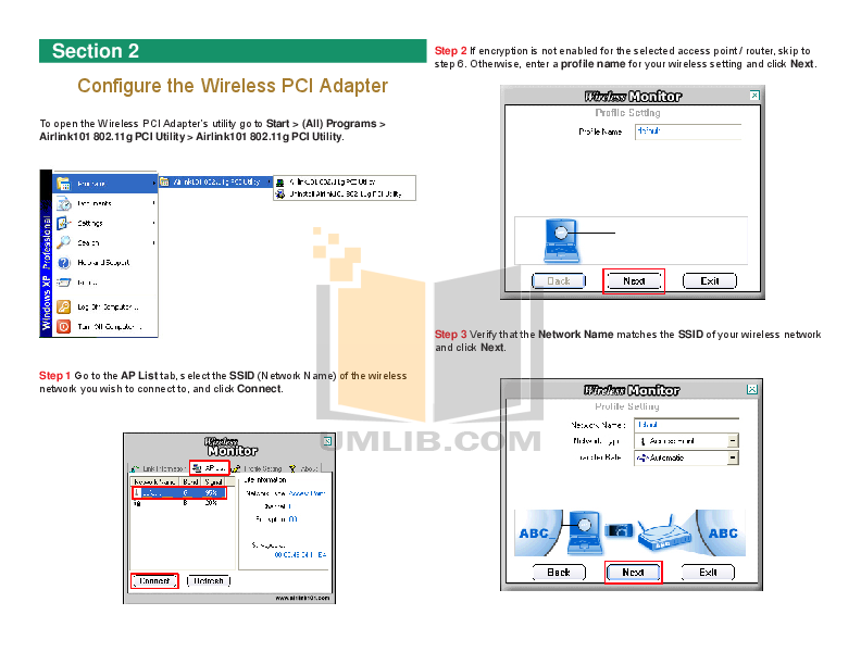 Airlink Other AWLH3026 Adapters pdf page preview
