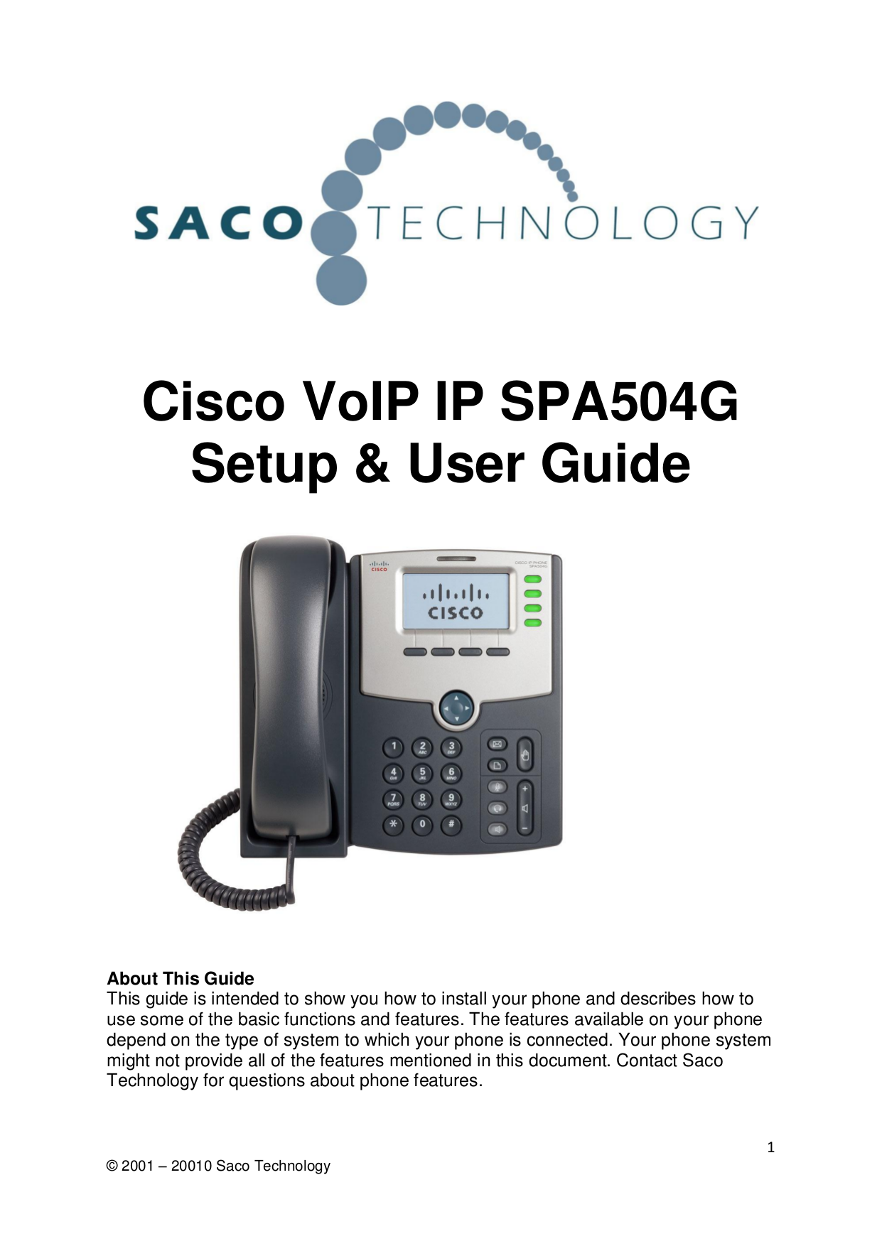 Using keypad shortcuts, caring for your phone | cisco ip phone spa.