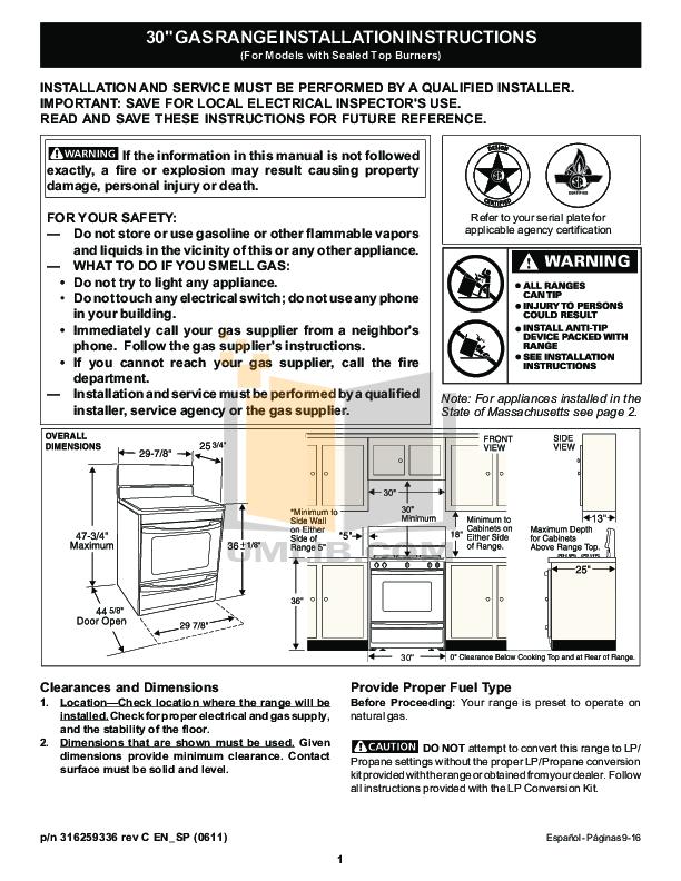 frigidaire range manual daily instruction manual guides u2022 rh testingwordpress co Frigidaire Stove Parts Frigidaire Glass-Top Stove
