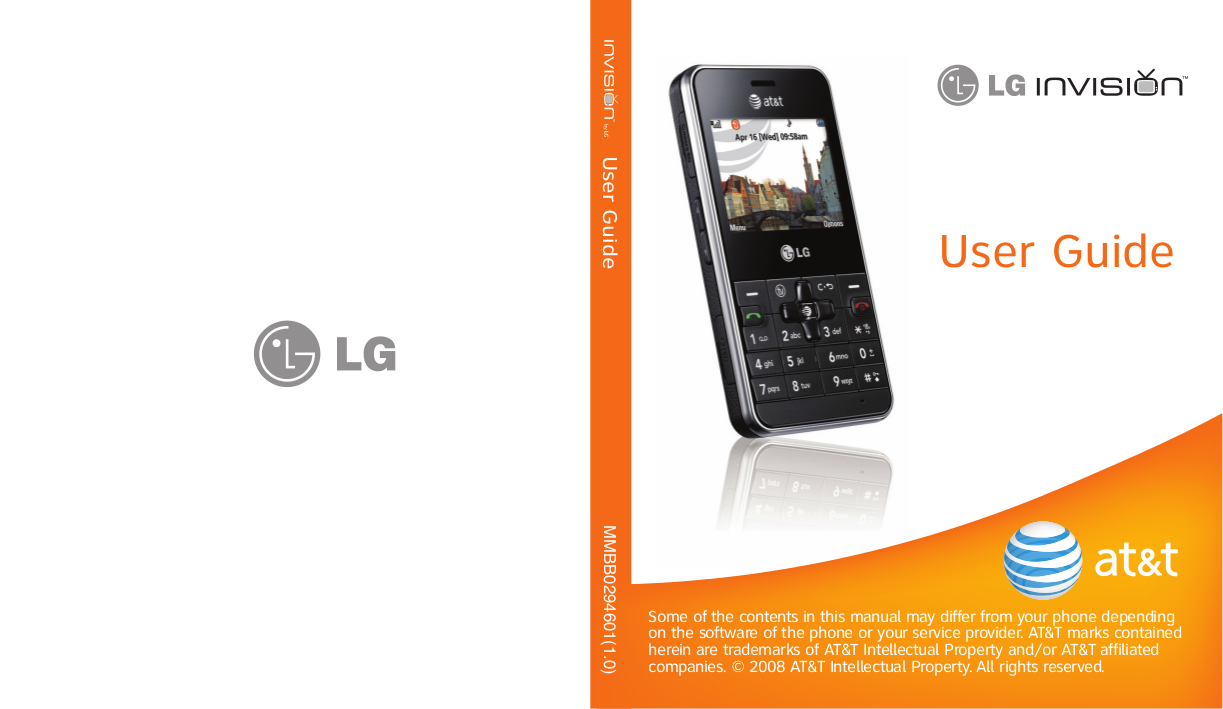 download free pdf for lg invision cell phone manual rh umlib com LG Cell Phone Manuals LG Touch Phone Operating Manual