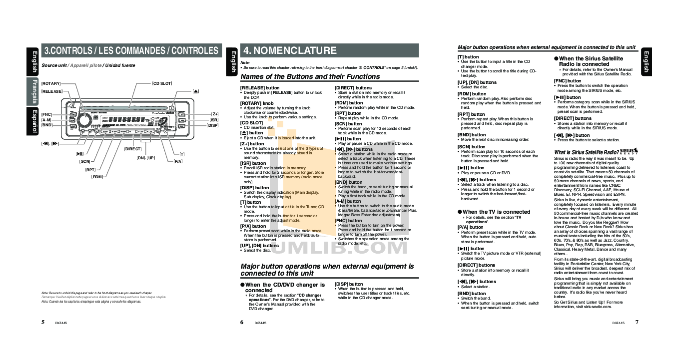 clarion dxz445 guide daily instruction manual guides u2022 rh testingwordpress co McLaren Cars The Clarion Sports Car