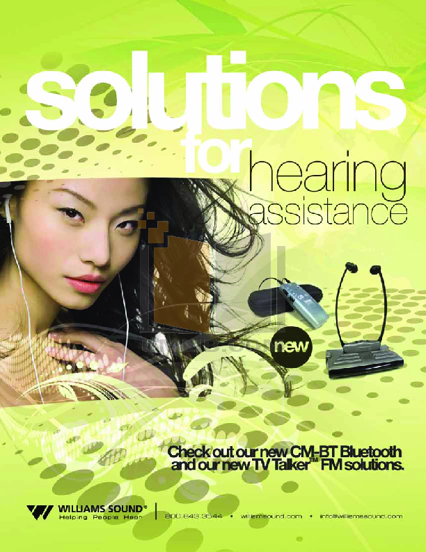 Clarity Telephone D613HS pdf page preview