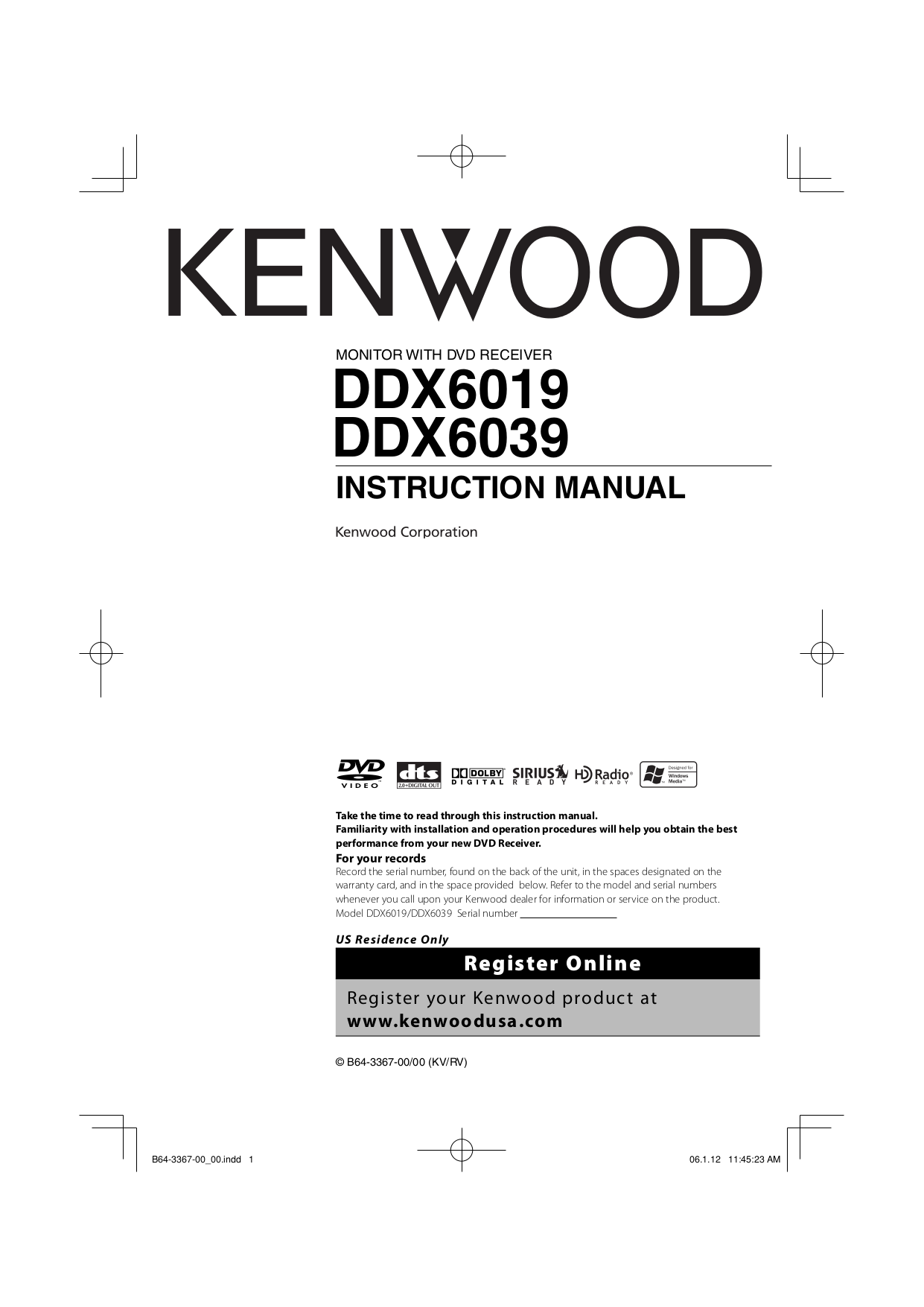 Download Free Pdf For Kenwood Ss 79 Receiver Manual Kvt 719dvd Wiring Diagram