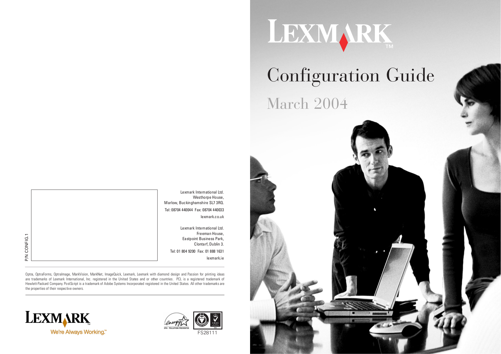 pdf for Lexmark Printer P706 manual