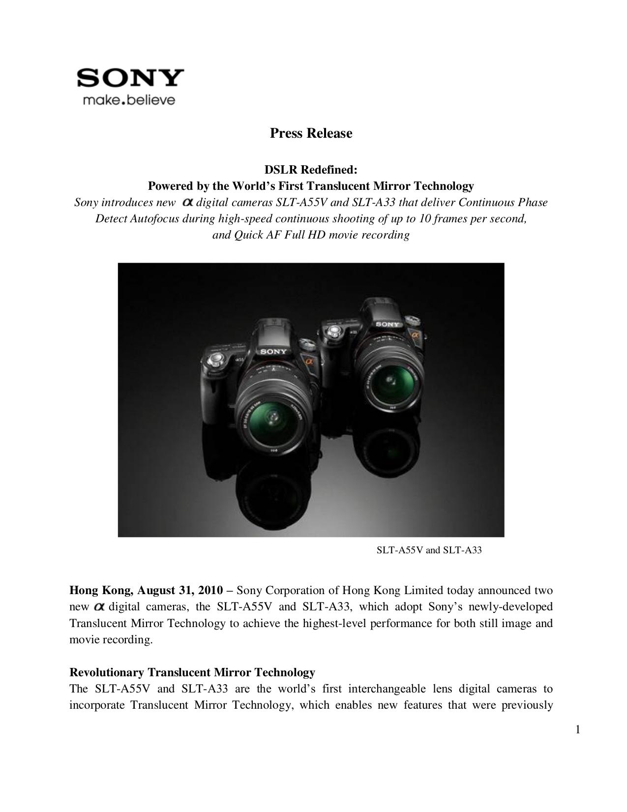 Sony A33 Manual Pdf Suzuki Gsf1200s 1996 8211 1999 Electrical Wiring Diagram Array Download Free For Slt A55v Digital Camera Rh Umlib Com