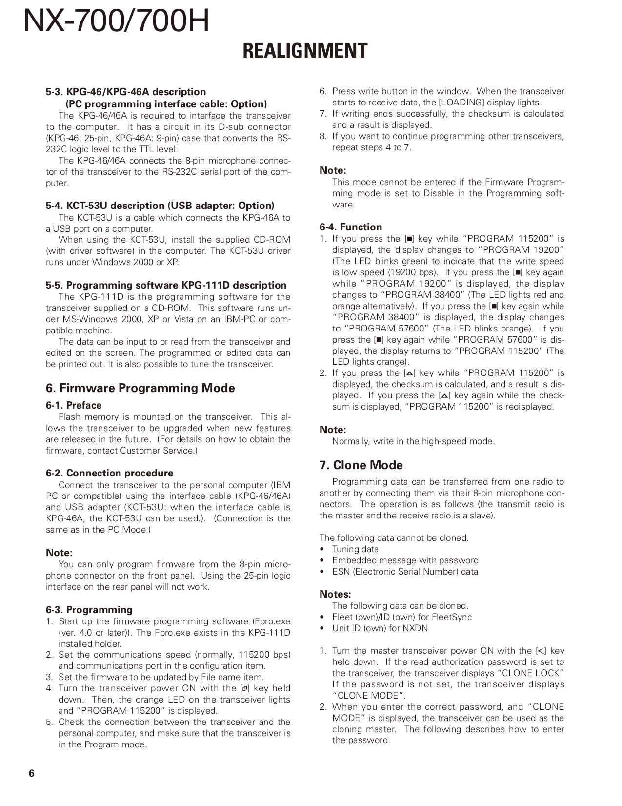PDF manual for Kenwood Radio KT-595