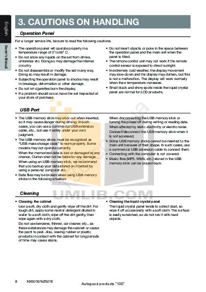 PDF manual for Clarion GPS N I C E