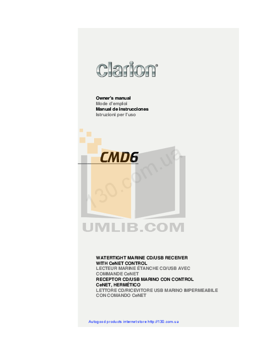 pdf manual for clarion gps n i c e rh umlib com Clarion CMD8 clarion cmd6 user manual