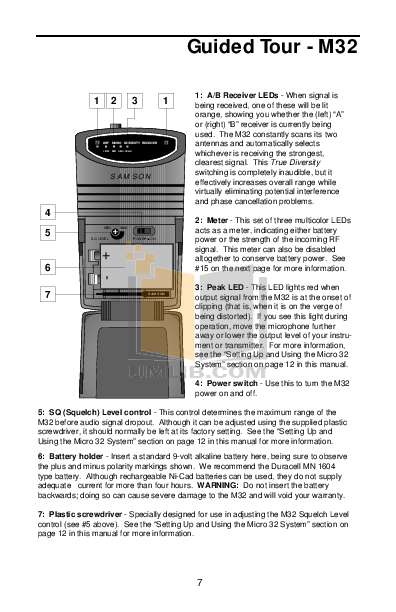 Crown Other CM-311AE Microphones pdf page preview
