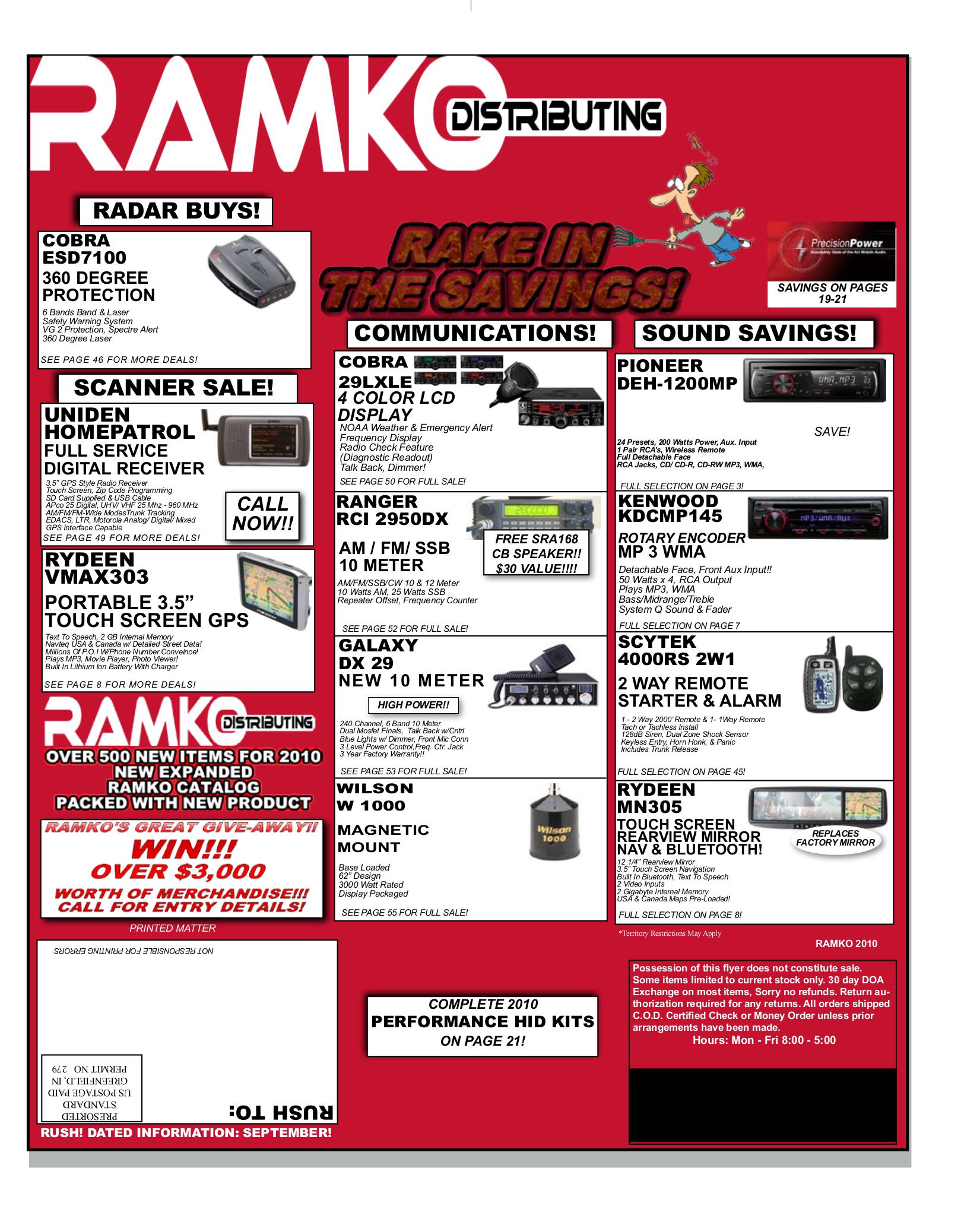 pdf for Uniden 2-way Radio PC68XL manual