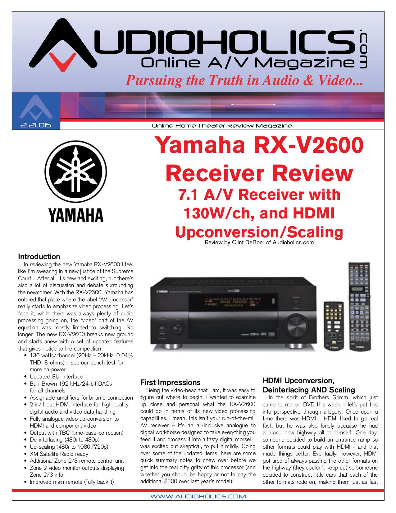 download free pdf for yamaha rx v2400 receiver manual rh umlib com Yamaha RX- V 1400 vs 2400 Yamaha Receiver Rx -375