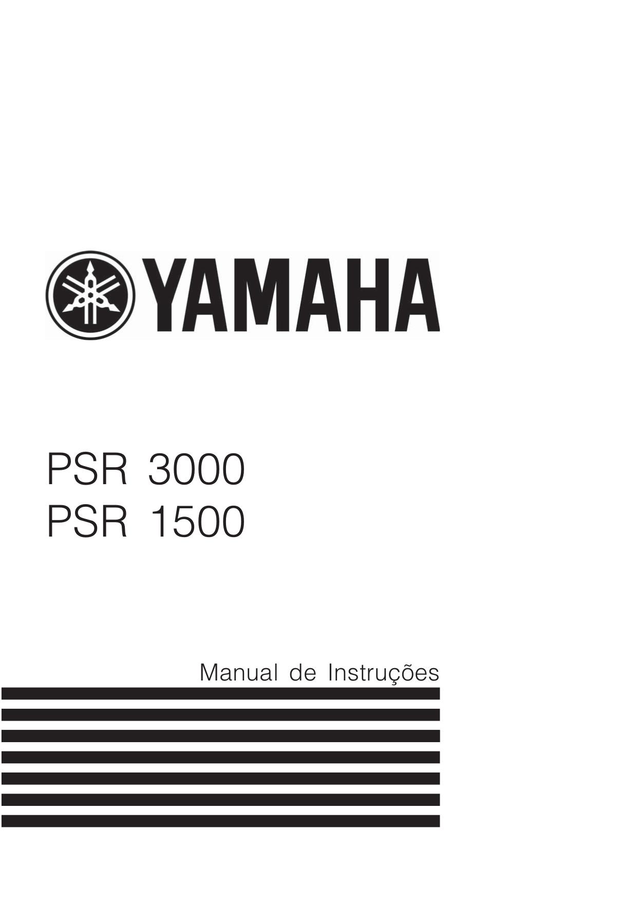 pdf for Yamaha Music Keyboard PSR-3000 manual