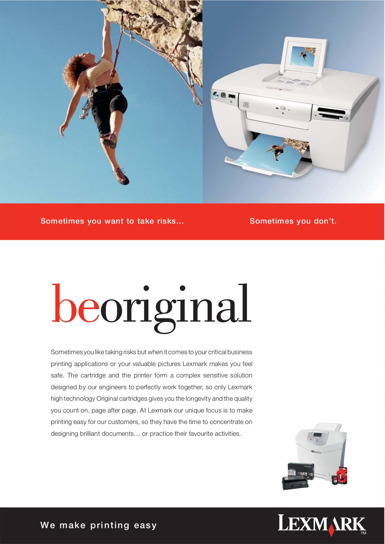pdf for Lexmark Printer Z42 manual