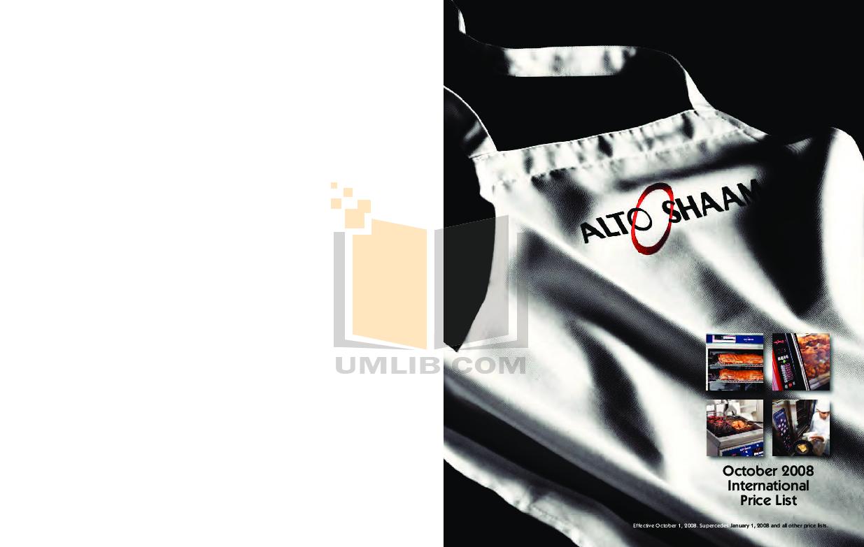pdf for AltoShaam Other 300-HW Warmers manual