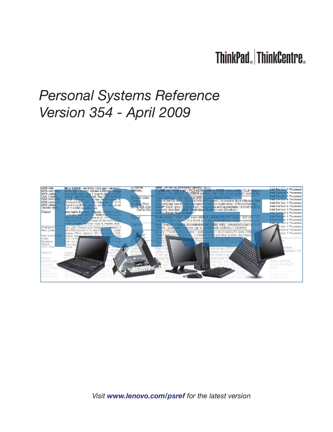 pdf for Lenovo Desktop ThinkCentre A62 3656 manual