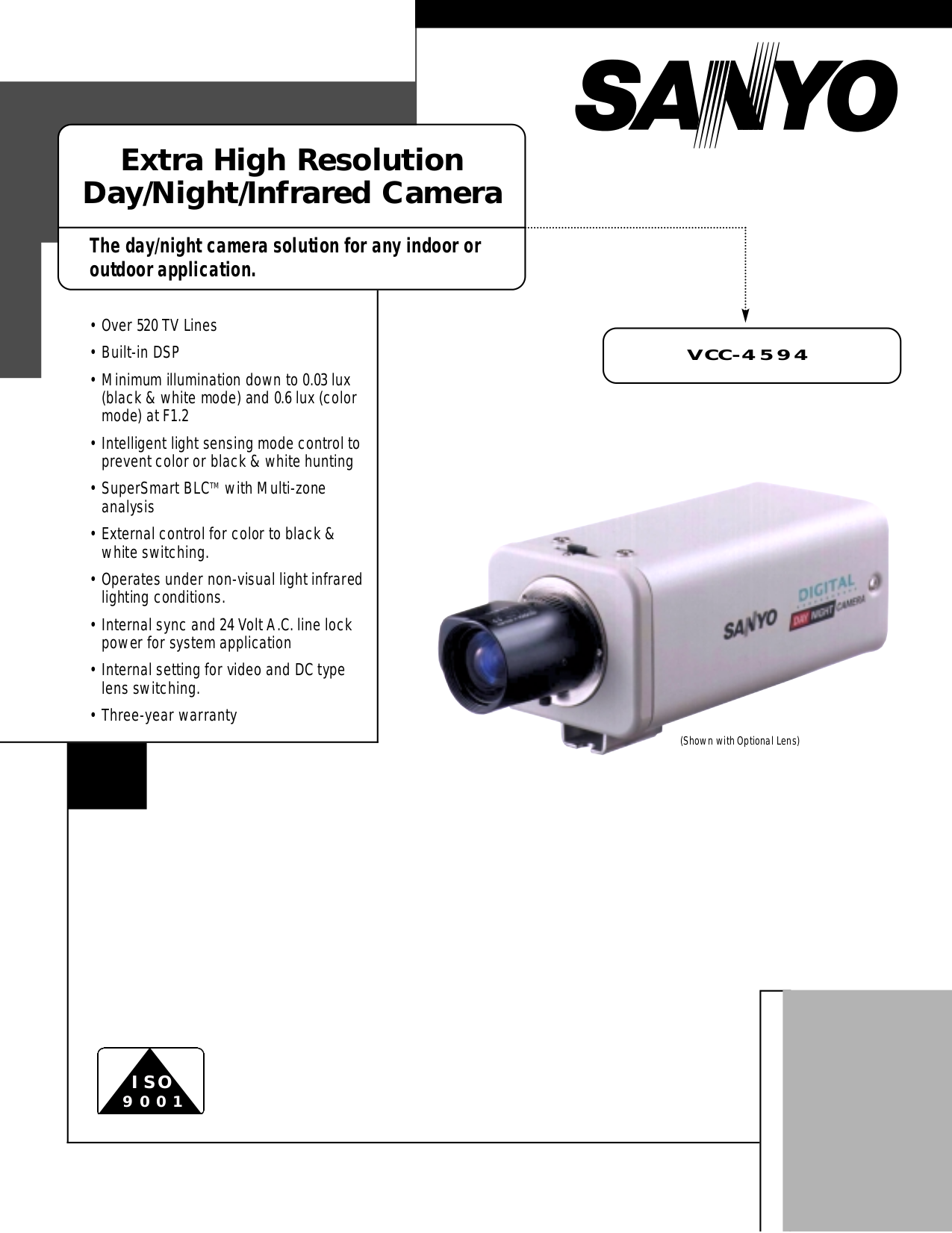 pdf for sanyo security camera vcc 4594 manual ...