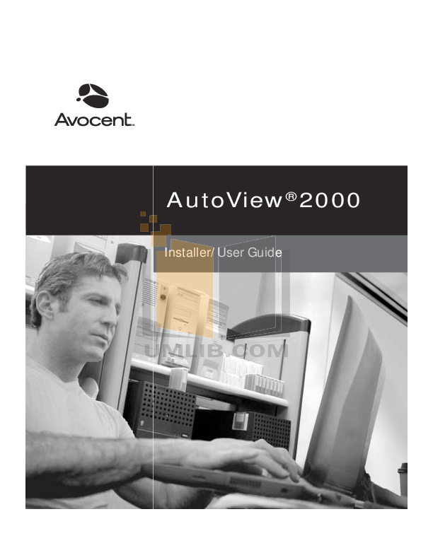 pdf for Avocent Switch AutoView AutoView 3100 manual