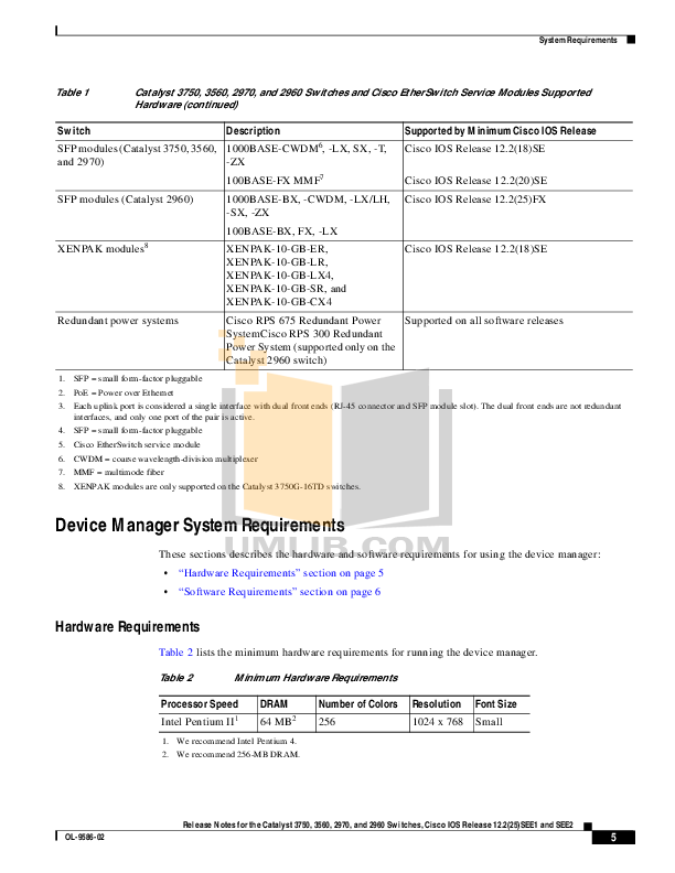 PDF manual for Cisco Switch Catalyst 2960-24TC