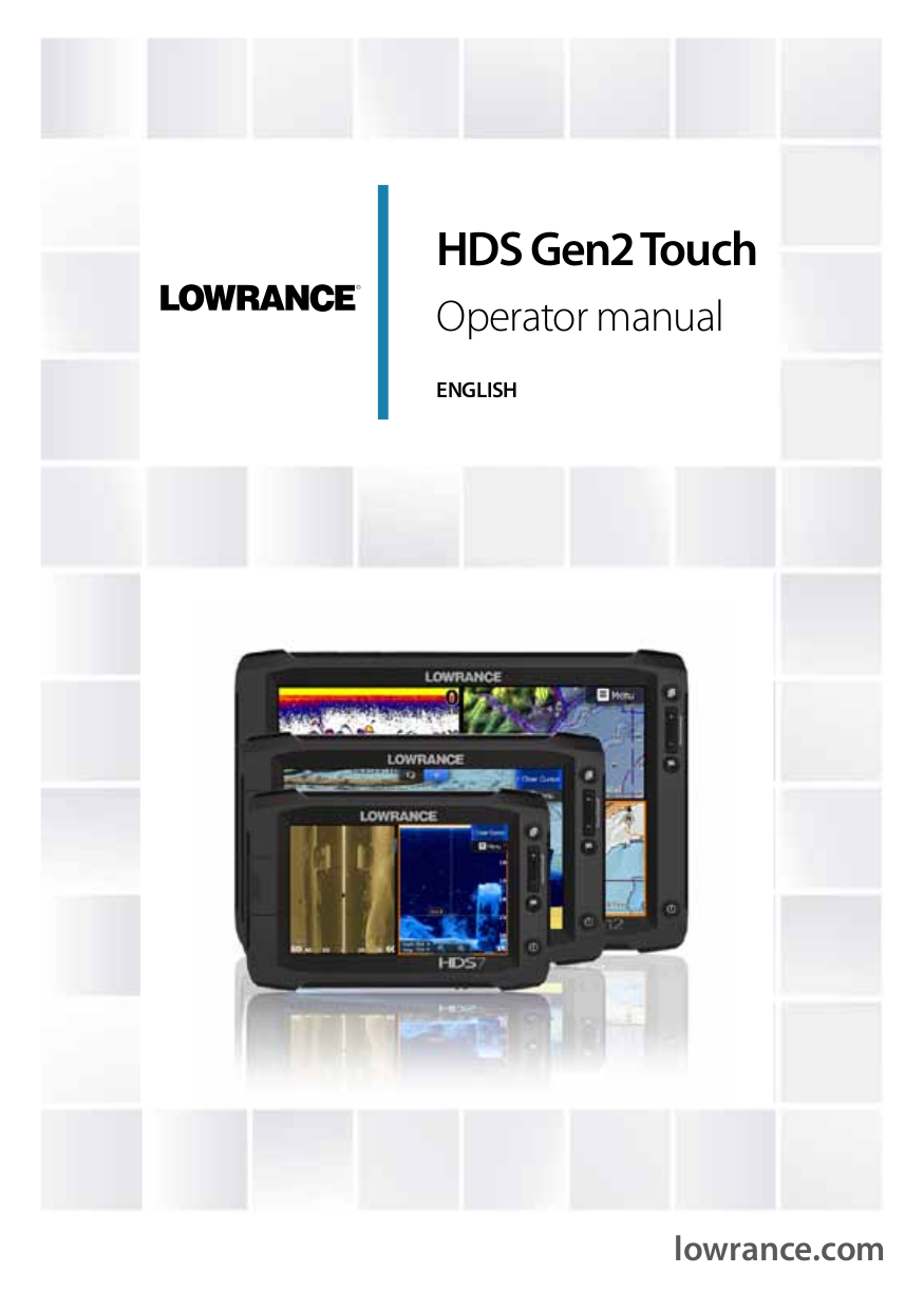 pdf for Lowrance GPS LCX-17M manual