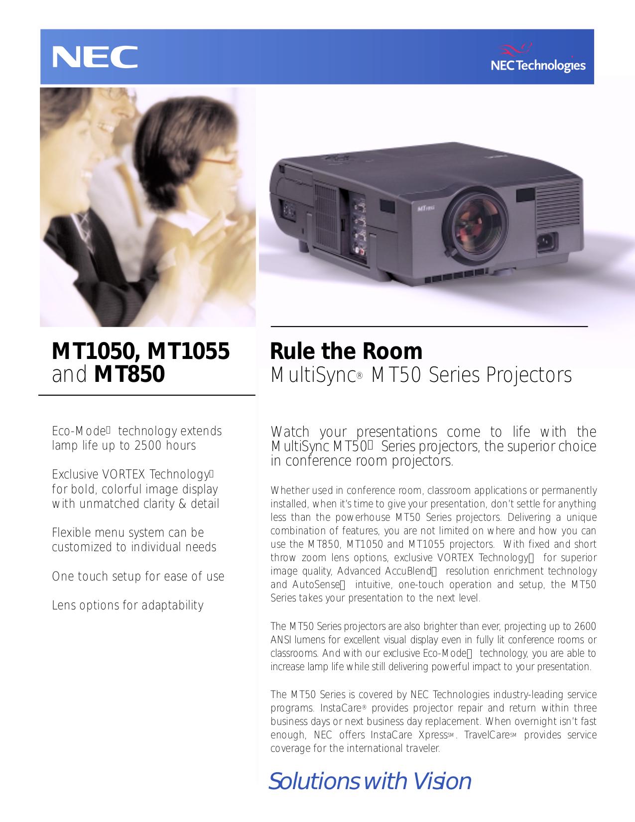 download free pdf for nec mt1050 projector manual rh umlib com NEC Projectors Offical Web Site NEC LT380 Projector Manual PDF