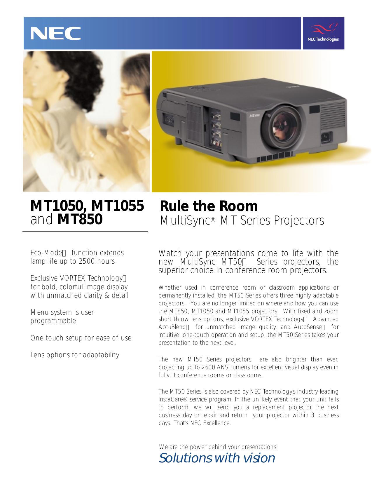 download free pdf for nec mt1050 projector manual rh umlib com NEC User Manual NEC Projectors Offical Web Site