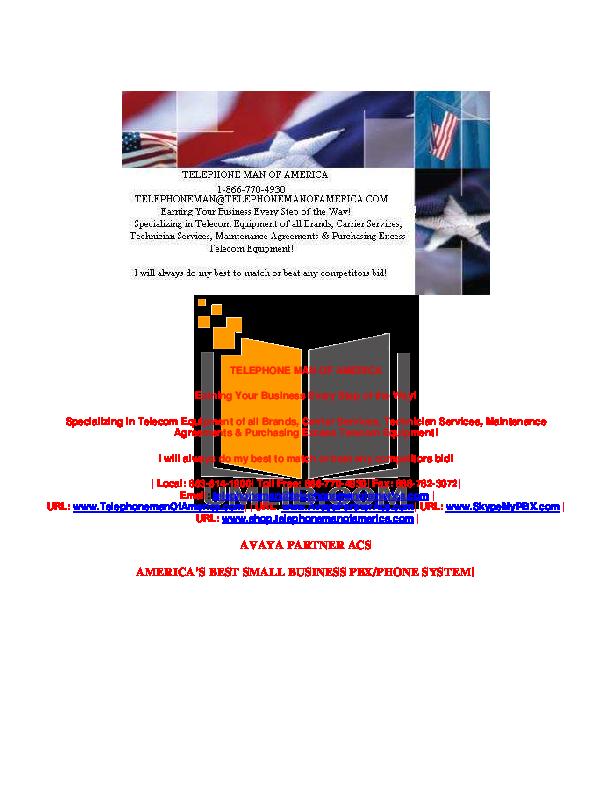 pdf for Avaya Telephone MLS manual