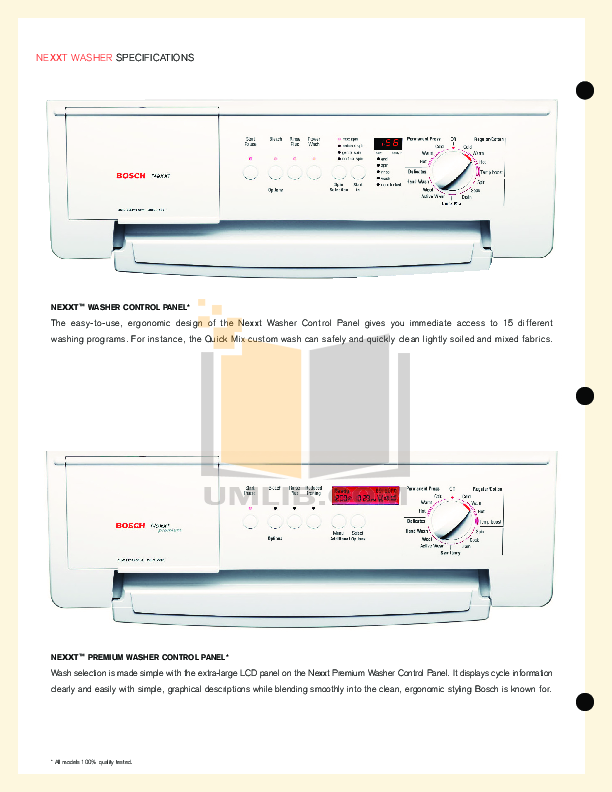 download free pdf for bosch axxis wta3510uc dryer manual rh umlib com Bosch Axxis Dryer User Manual Bosch Dryer Repair Manual