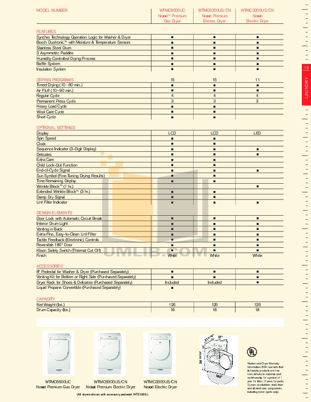 pdf manual for bosch dryer axxis wta3510uc rh umlib com Bosch Dryer Repair Bosch Nexxt 500 Series Dryer