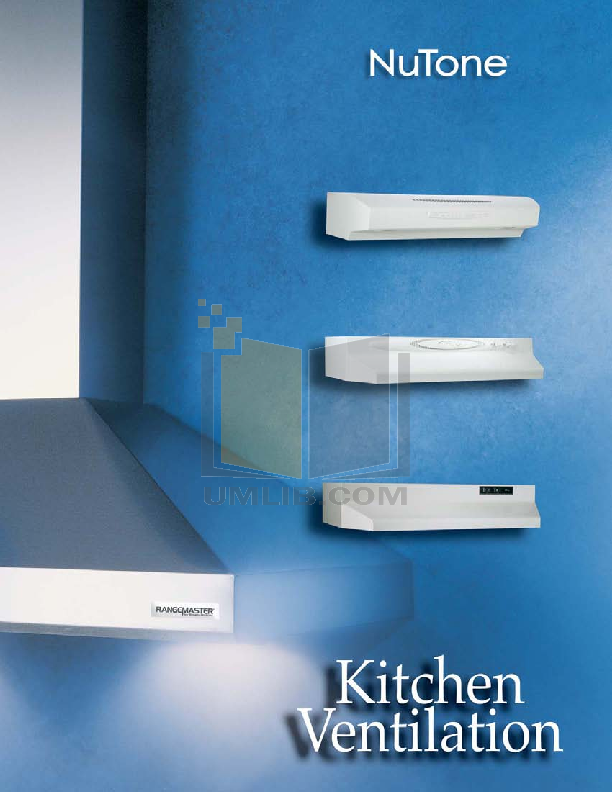 pdf for Broan-NuTone Other 64000 Series 644202 Hoods manual