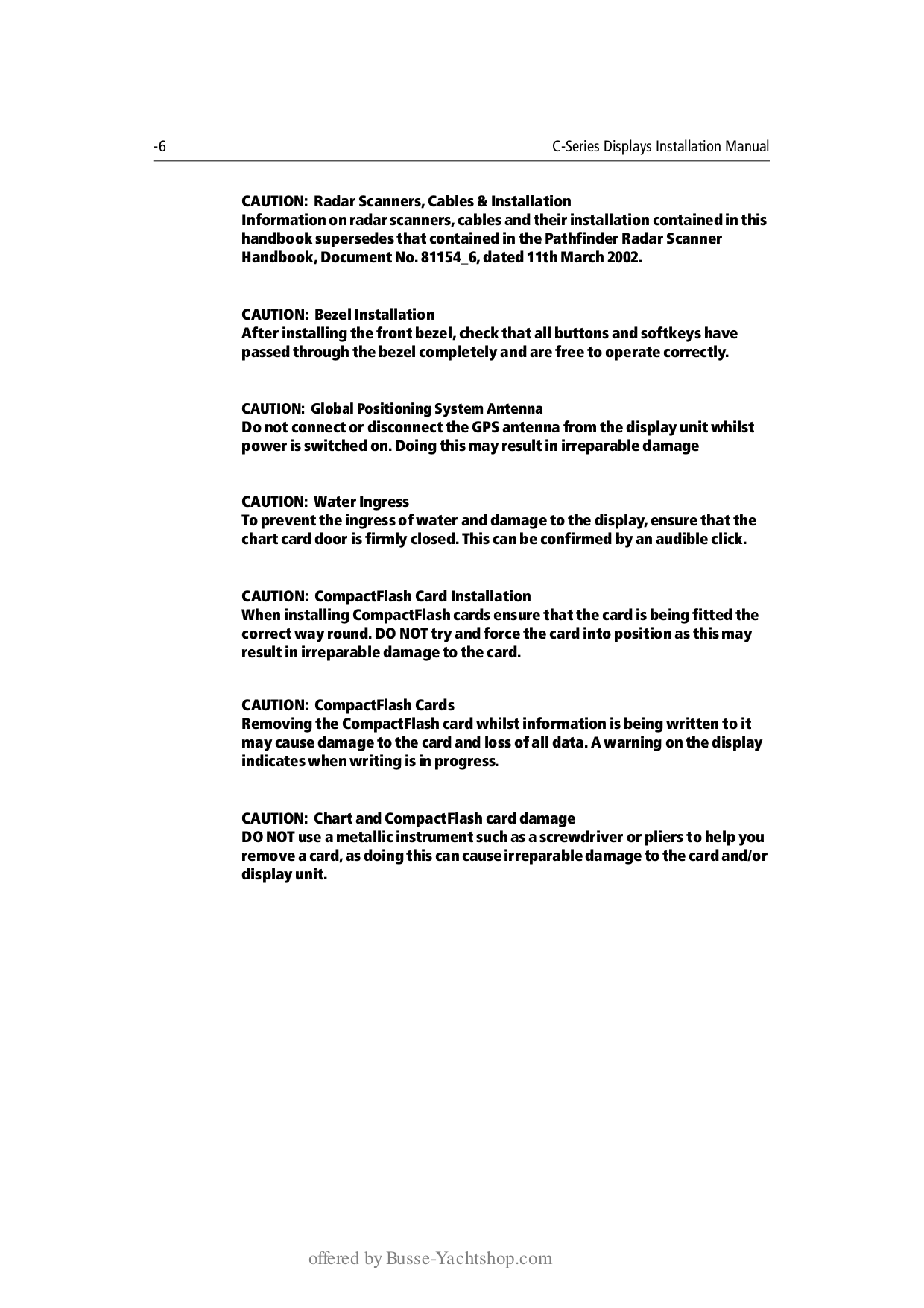 ... Raymarine GPS C80 pdf page preview