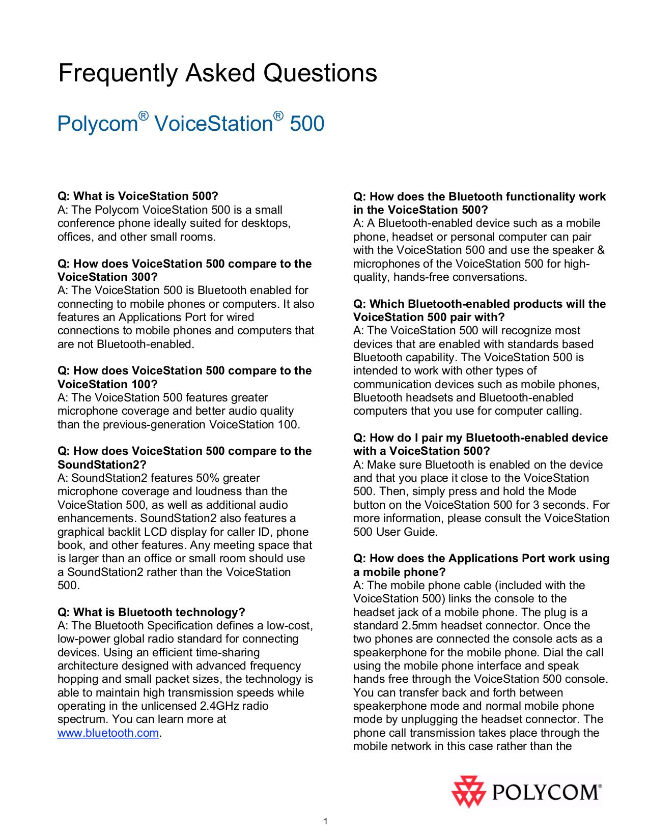 polycom voicestation 300 user guide best setting instruction guide u2022 rh ourk9 co Polycom IP Phones Manual Polycom VVX 400