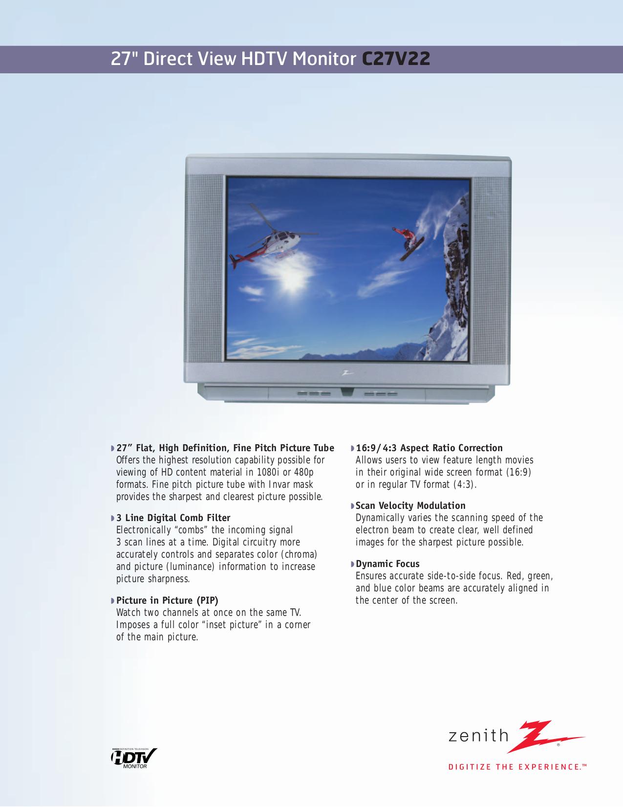 Zenith tv manual array download free pdf for zenith c27v22 tv manual rh umlib com fandeluxe Image collections