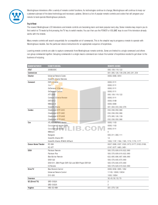 pdf for DirecTV DVR SD-HBH manual