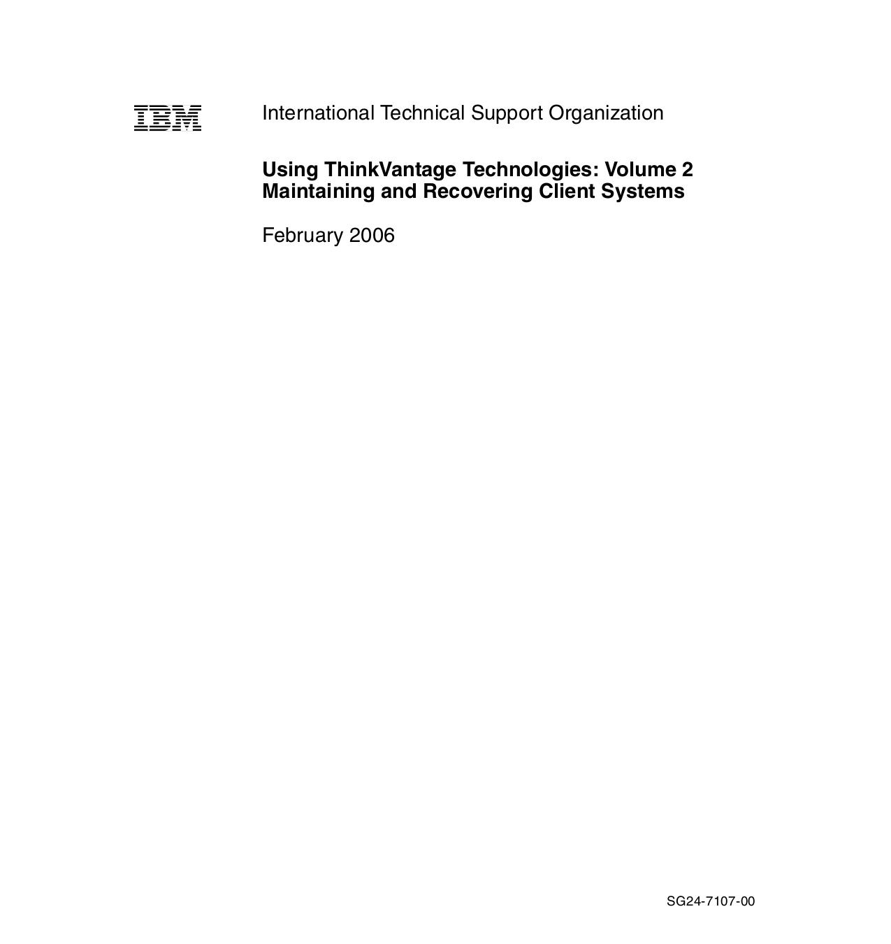 Lenovo Desktop ThinkCentre S50 8087 pdf page preview