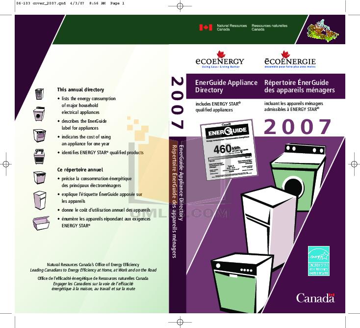 pdf for Estate Refrigerator TS22AFXK manual