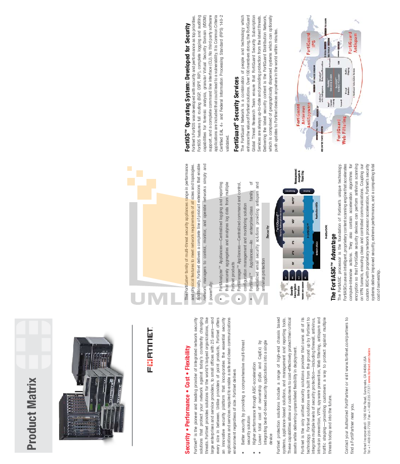 Fortinet Router FortiGate FortiGate-5140 pdf page preview