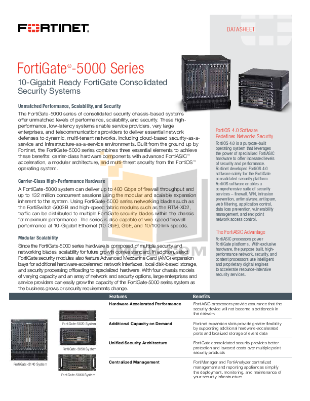 pdf for Fortinet Router FortiGate FortiGate-5140 manual