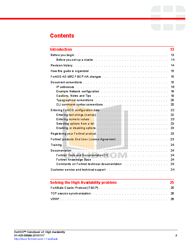 PDF manual for Fortinet Router FortiGate FortiGate-5140