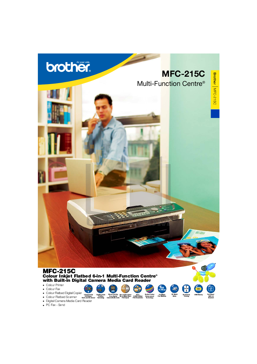 Download Brother MFC-215C Printer Driver