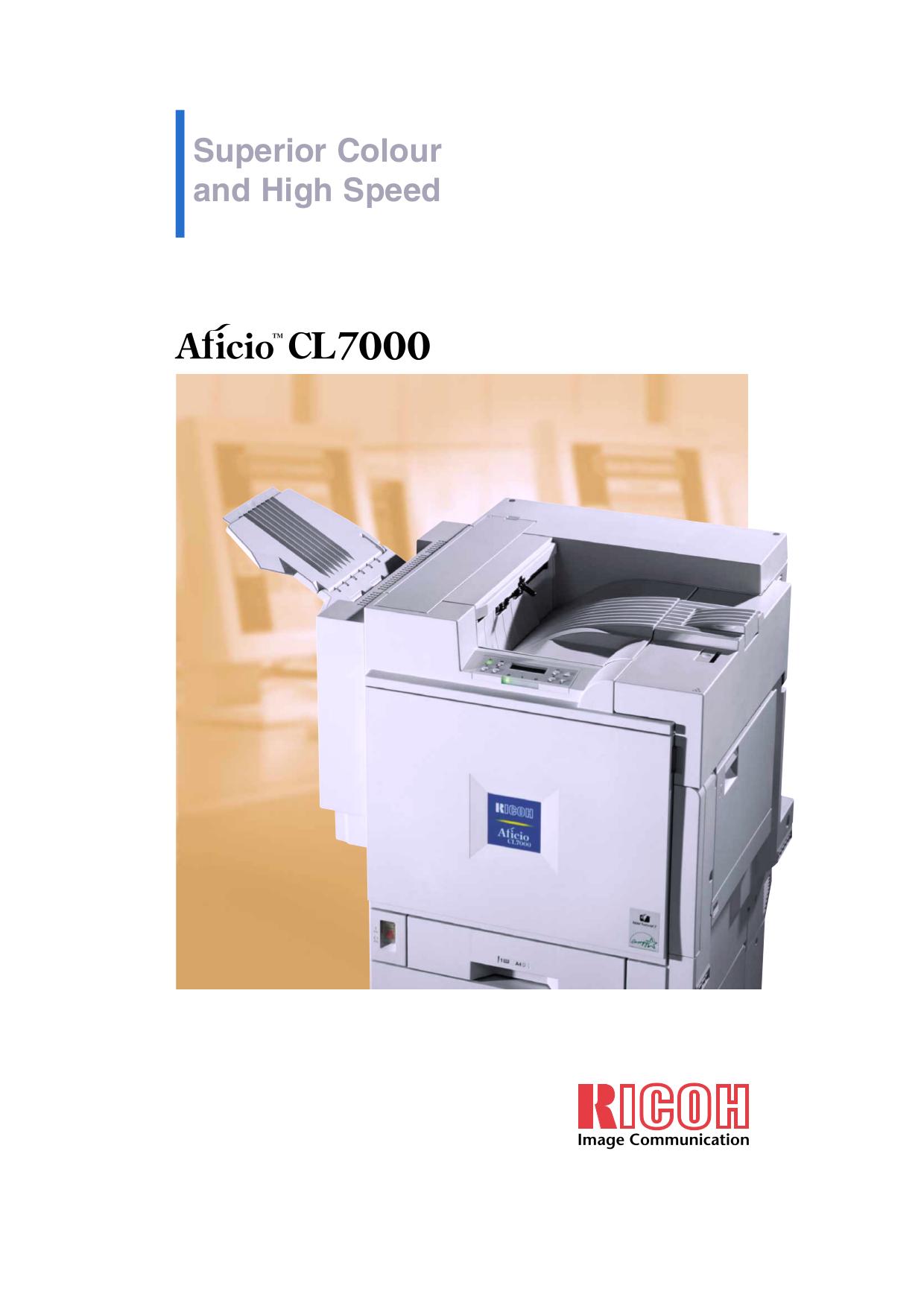 ricoh aficio cl7000 manual online user manual u2022 rh pandadigital co ricoh aficio cl7000 driver Ricoh USA